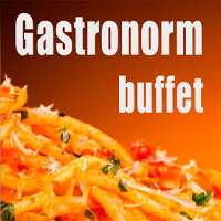 Gastronorm buffet